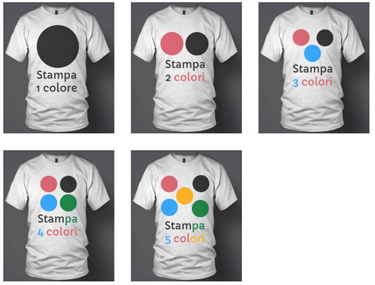 Magliette serigrafate personalizzate Bros Print