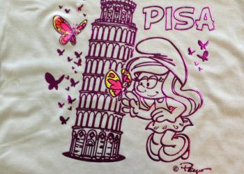 maglietta stampa serigrafica 3 colori