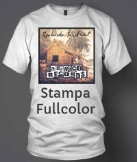 maglietta personalizzata con foto stampa fullcolor