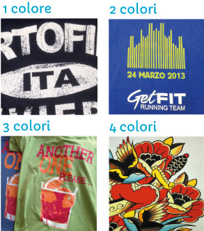 stampa serigrafia t-shirt