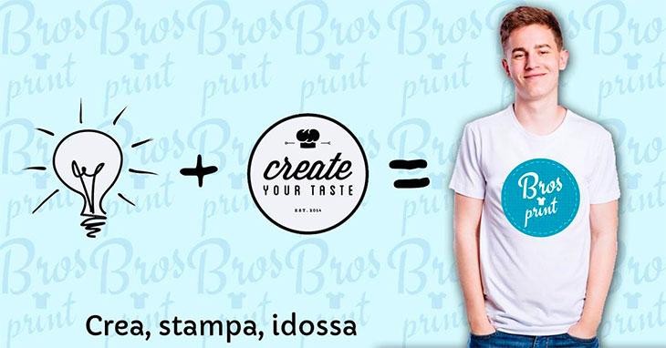 Magliette personalizzate Bros Print