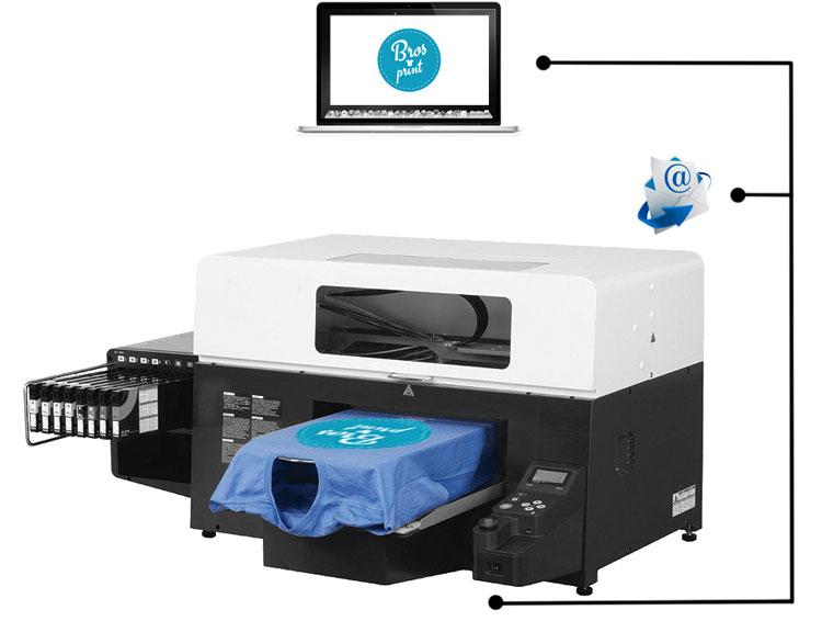 stampante digitale per stampa t-shirt Bros Print