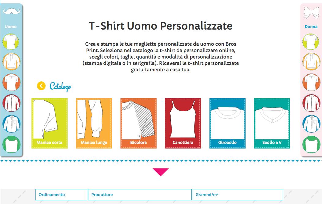 official photos 7c58a 1bc97 Creare Magliette Personalizzate Online: Crea la tua t-shirt ...