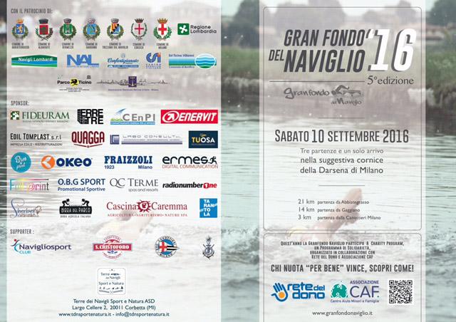 Bros Print sponsor Gran Fondo del Naviglio 2016 Milano