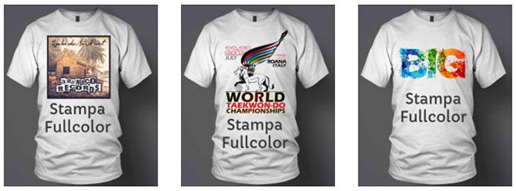 Magliette Personalizzate T Shirt Stampate O Ricamate