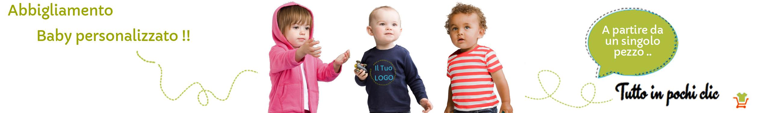 Con Bros Print è possibile creare e stampare online vari capi di abbigliamento  personalizzati per neonati e bimbi piccoli. È molto semplice e veloce   basta ... c2cf08e7ee9a