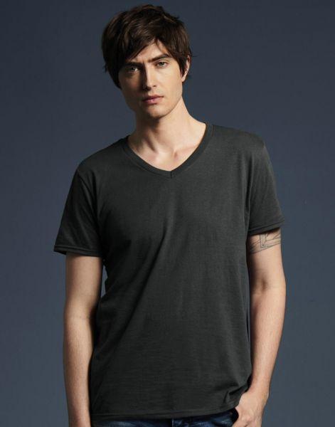 finest selection 63e15 d472b Anvil T shirt Fashion Uomo Scollo V Personalizzate Online