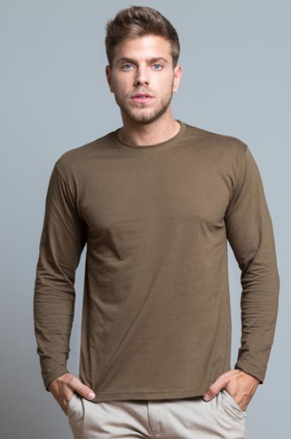 new product 9650e a852a T-Shirt Manica Lunga Uomo JHK da Personalizzare Online