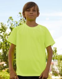 t-shirt bambino Fruit of the Loom ginnastica o atletica