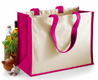 Buste shopper per negozi juta cotone canvas Westford Mill