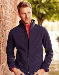 Giacca softshell uomo impermeabile antivento Russell
