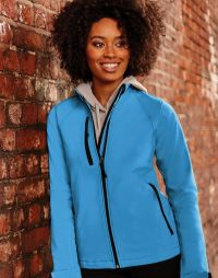 Giacca softshell donna antivento idrorepellente Russell