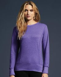 Maglia donna french terry Anvil