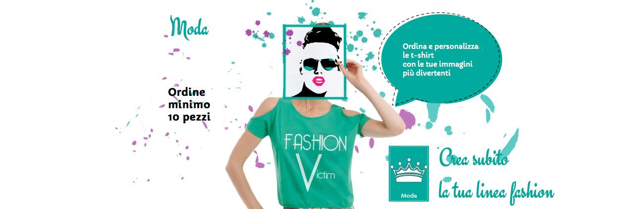 Stampa Abbigliamento Personalizzato Online  T-shirt 6b9590a8db6a